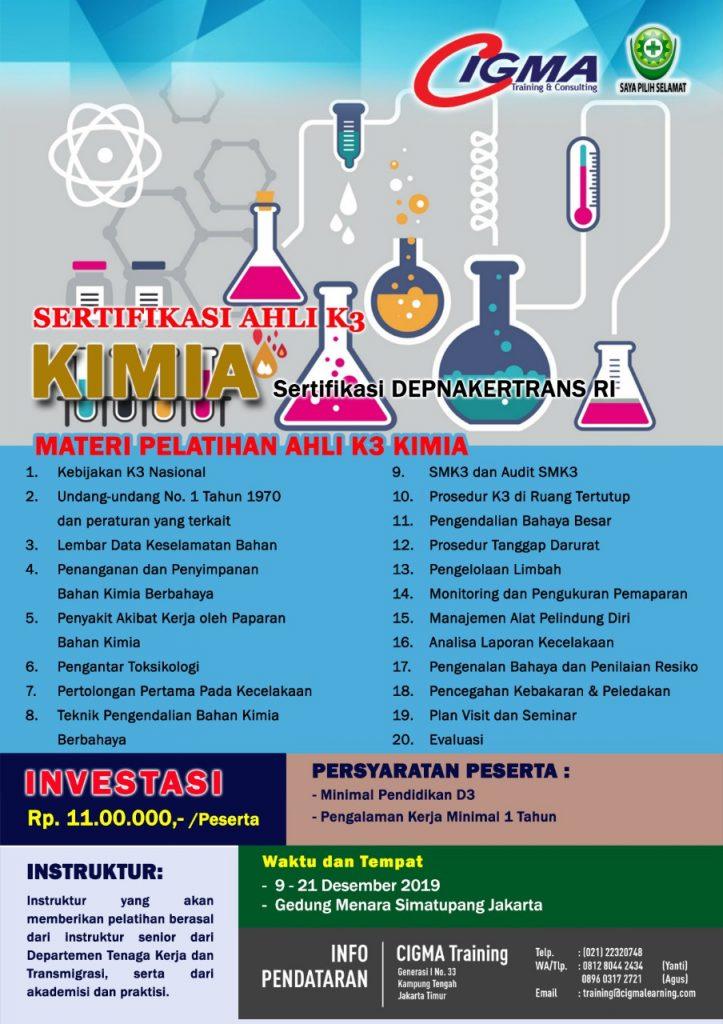 Brosur Ahli K3 Kimia