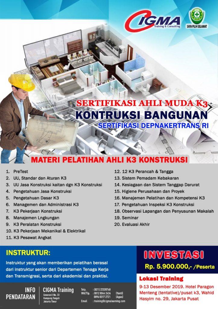 Brosur Ahli Muda Konstruksi