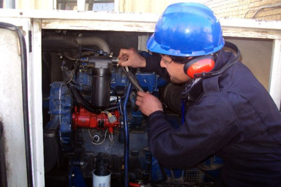 Training K3 Operator Genset