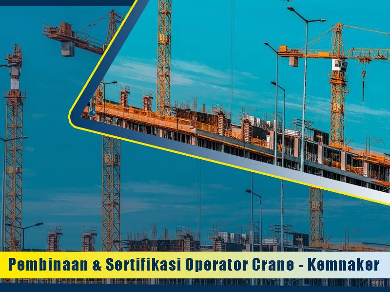 sertifikasi k3 crane