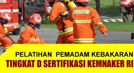 sertifikasi k3 kebakaran