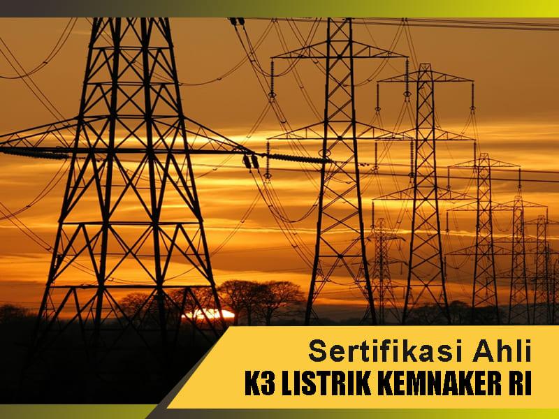 sertifikasi k3 listrik